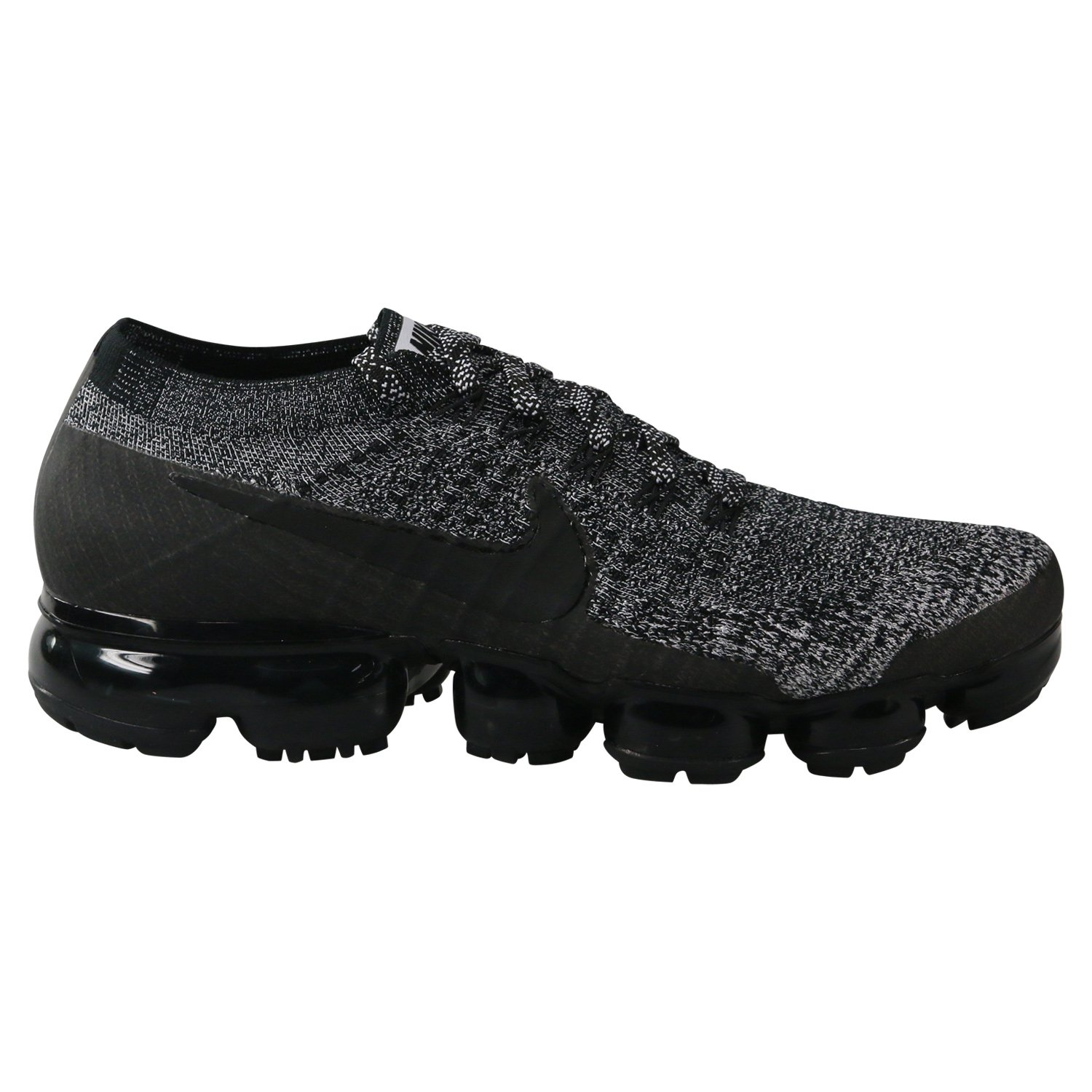 a036d55fc Galleon - NIKE Men s Air Vapormax Flyknit Running Shoe  Black Black-White-Racer Blue 11.5