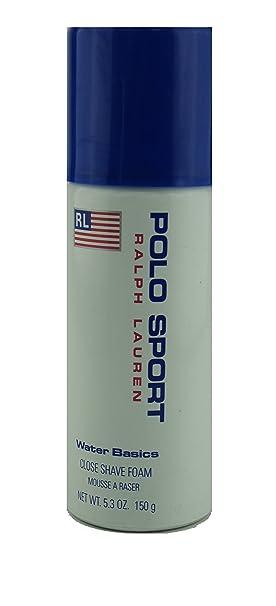 Ralph Lauren - Polo Sport - Shaving Foam/espuma 150 ml: Amazon.es ...