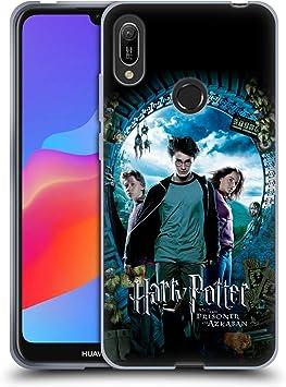 Officiel Harry Potter Ron, Harry & Hermione Poster Prisoner of Azkaban IV Coque en Gel Doux Compatible avec Huawei Y6 (2019)