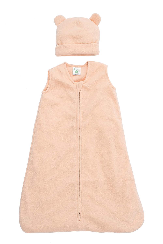Pijama beb/é Tipo Saco de Dormir Pijama Manta beb/é para reci/én Nacido Cuddle Club Sacos de Dormir de Forro Polar para beb/é