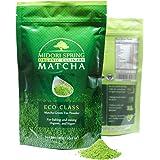 Midori Spring Organic Japanese Matcha - Green Tea Powder for Drinks, Cooking and Baking - Kosher, Vegan Certified (100g)