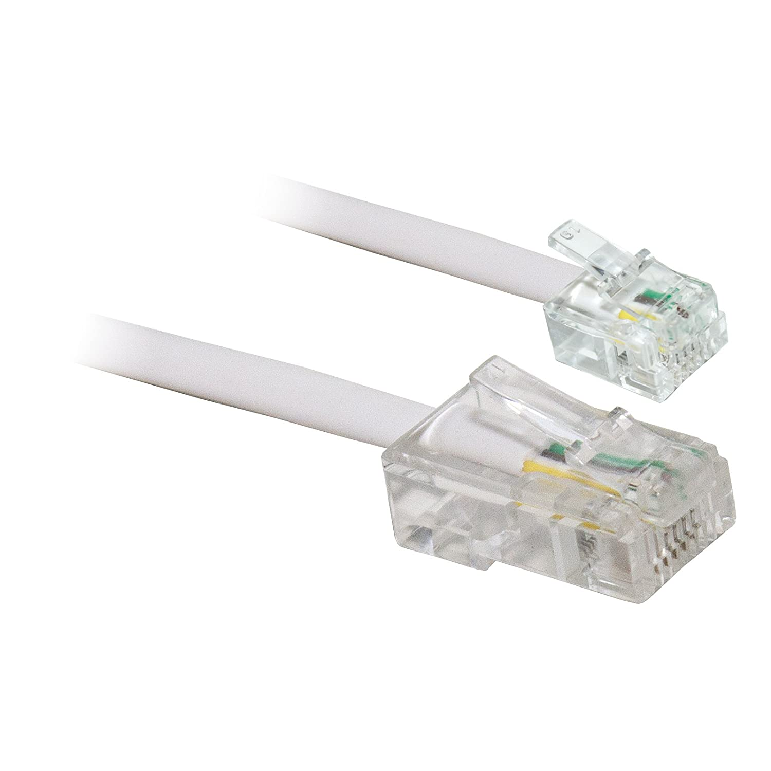kenable 4 Wire BT Plug to RJ11 Crossover Telephone: Amazon.co.uk ...