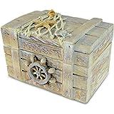 Puzzled Vintage Jewelry Box Nautical Décor - Beach Theme - Unique Gift and Souvenir - Item #9464