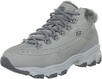 Skechers D'Lites Pleasantry 99999168, Sneaker Donna, Grigio