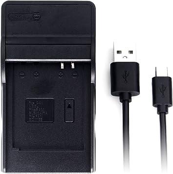 con micro USB Plug Rápido-cargador para Canon Digital IXUS 25is 85is 95is HS