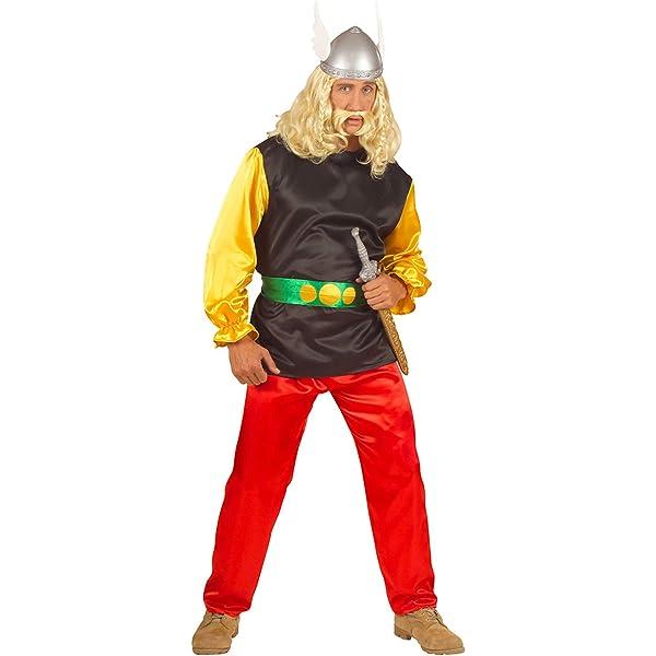 WIDMANN Widman - Disfraz de vikingo para hombre, talla M ...