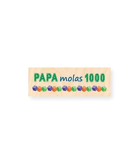 PAPA molas 1000 | Tabla de Madera impresa - Autoadhesiva ...
