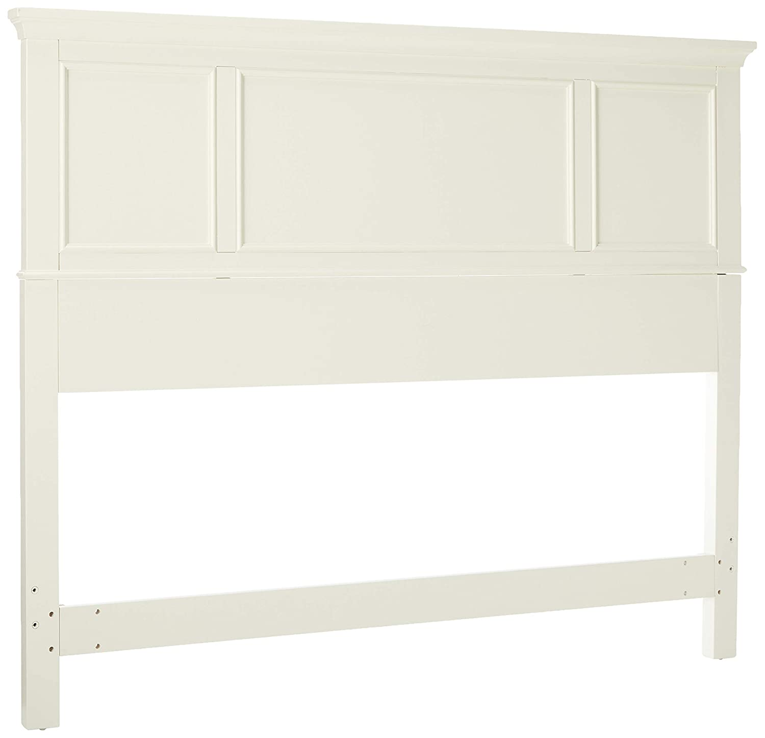 Naples White Queen Headboard by Home Styles