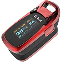 Dr Trust (USA) Professional Series Finger Tip Pulse Oximeter With Audio Visual Alarm and Respiratory Rate (RED)