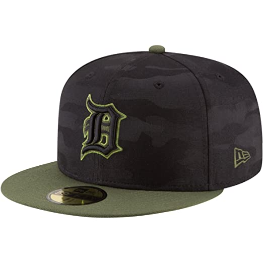 newest 90db6 4aab2 New Era Detroit Tigers Memorial Day Fitted Cap 59fifty Basecap Limited  Special Edition