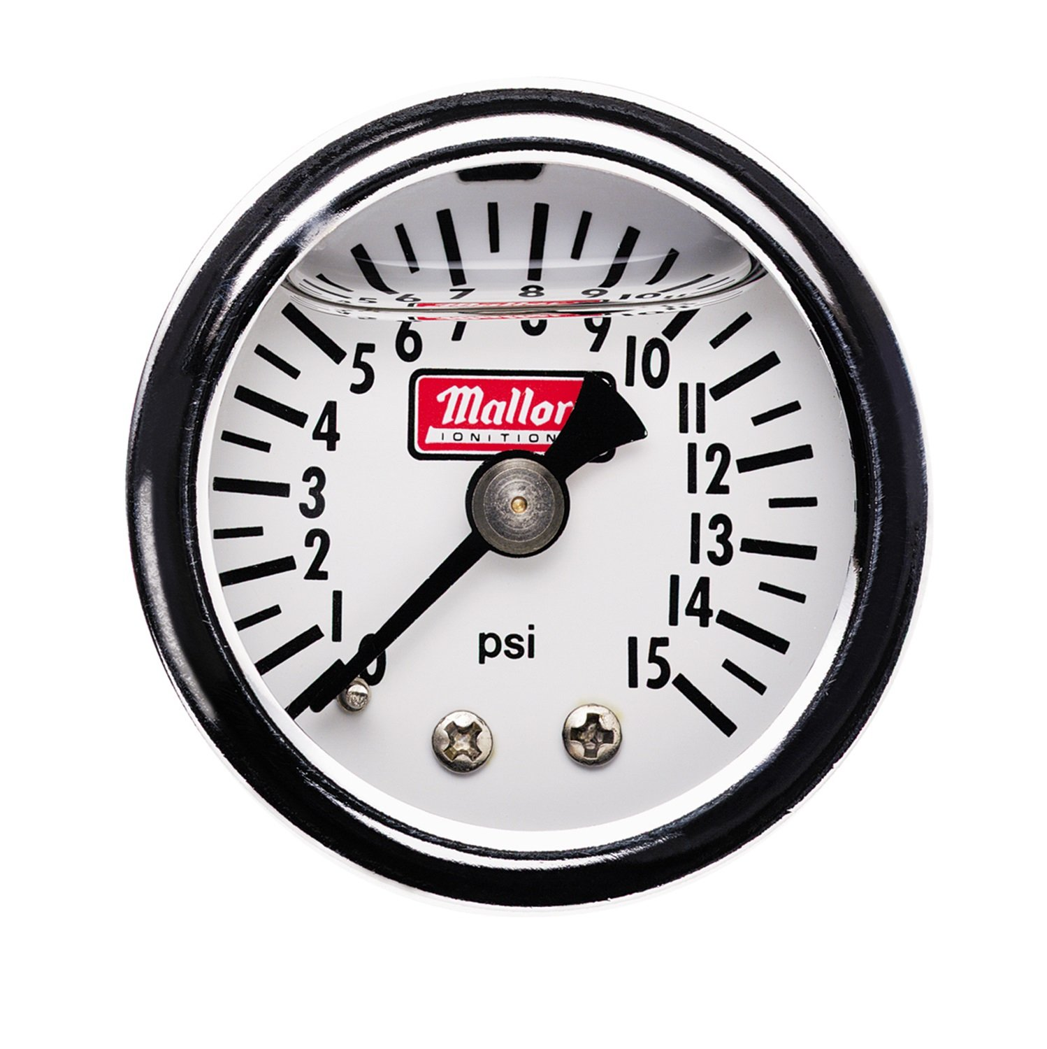 Mallory 29138 Fuel Pressure Gauge (0-15Psi, Mechanical) by Mallory