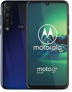 motorola Moto Factory - Smartphone Desbloqueado (versión Internacional), 64 GB, Moto G8 Plus - Azul - Internacional - 2019