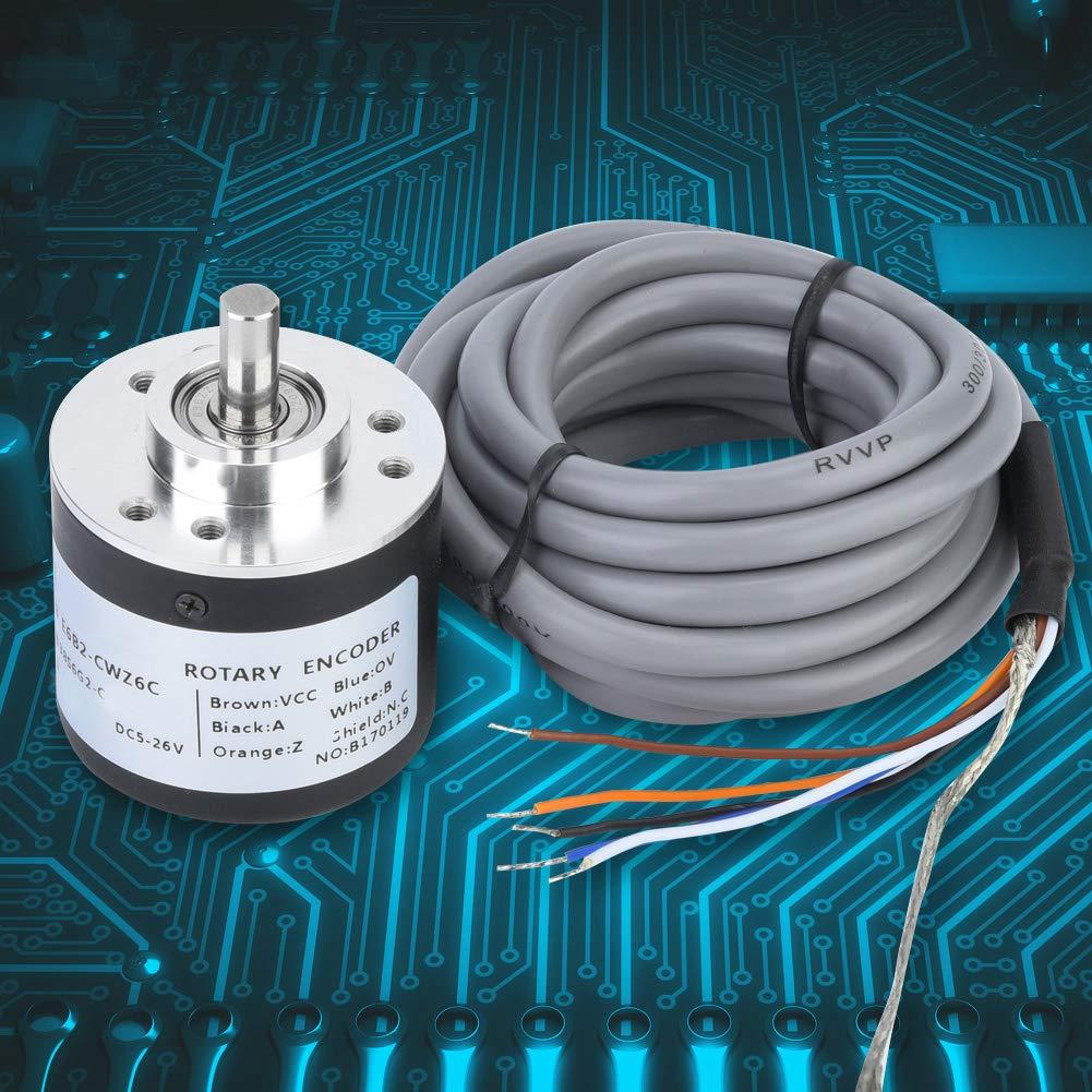 E6B2-CWZ6C Incremental Rotary Encoder General-Purpose Encoder 38mm Diameter 360P//R