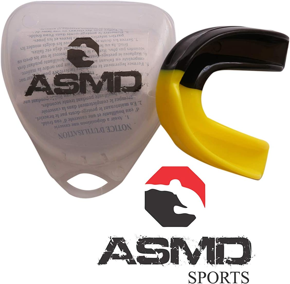 asmd Gum Shield Protector bucal Dos Colores