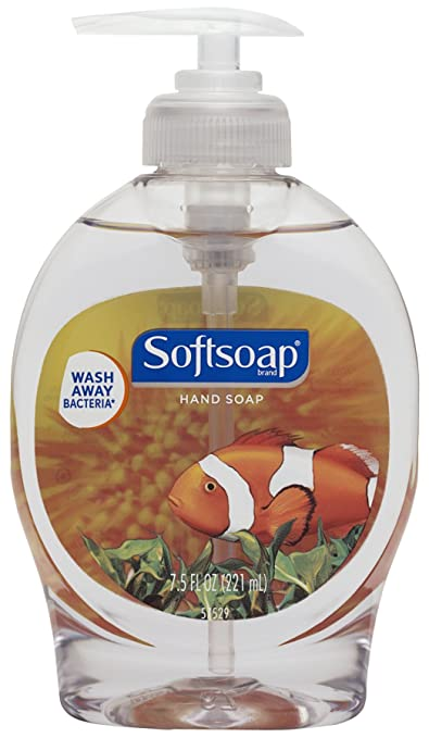 Softsoap Liquid Hand Soap Pump, Aquarium - 7.5 fluid ounce (12 Pack)