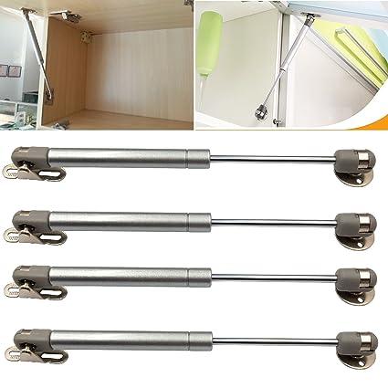 DerBlue 4 Pcs 100N/22.5lb Gas Strut Lift Support Cabinet Door Lift Pneumatic Support  sc 1 st  Amazon.com & DerBlue 4 Pcs 100N/22.5lb Gas Strut Lift Support Cabinet Door Lift ...