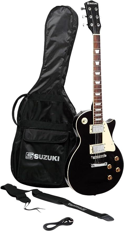 Suzuki sls2bk guitarra eléctrica: Amazon.es: Instrumentos musicales