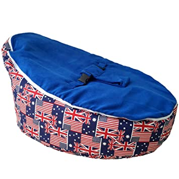 Magnificent Unfilled Baby Bean Bag Chair Cozy Adaptable Newborn Seat Lounger Lightweight And Portable Bralicious Painted Fabric Chair Ideas Braliciousco