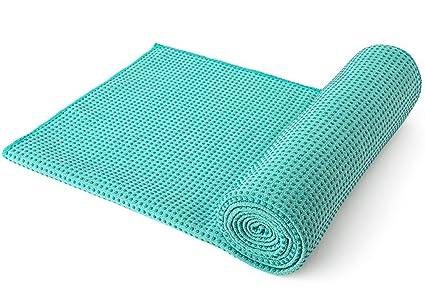 MFY Yoga Mat Toalla – Ultra suave, sudor absorbente, de secado rápido, ultraligero