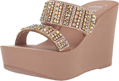 Yellow Box Women's P-Edin Wedge Sandal