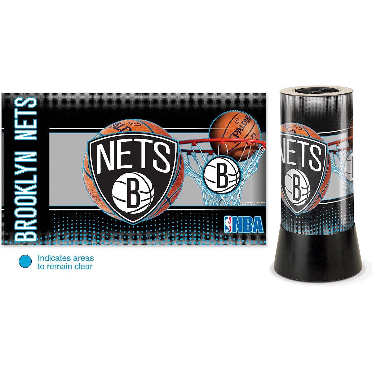 NBA Brooklyn Nets Rotating Lamp