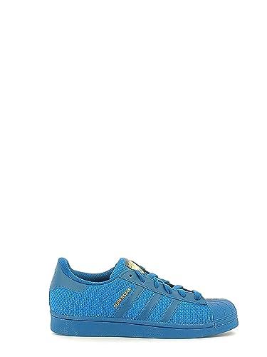 9c4b3ab0d2 adidas Superstar J, Chaussures de Gymnastique Mixte Enfant, Blanc Tecste,  37 1/