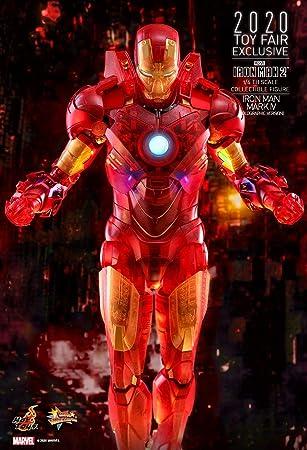 Hot Toys 1:6 Iron Man Mark IV holográfico - Iron Man 2 ...