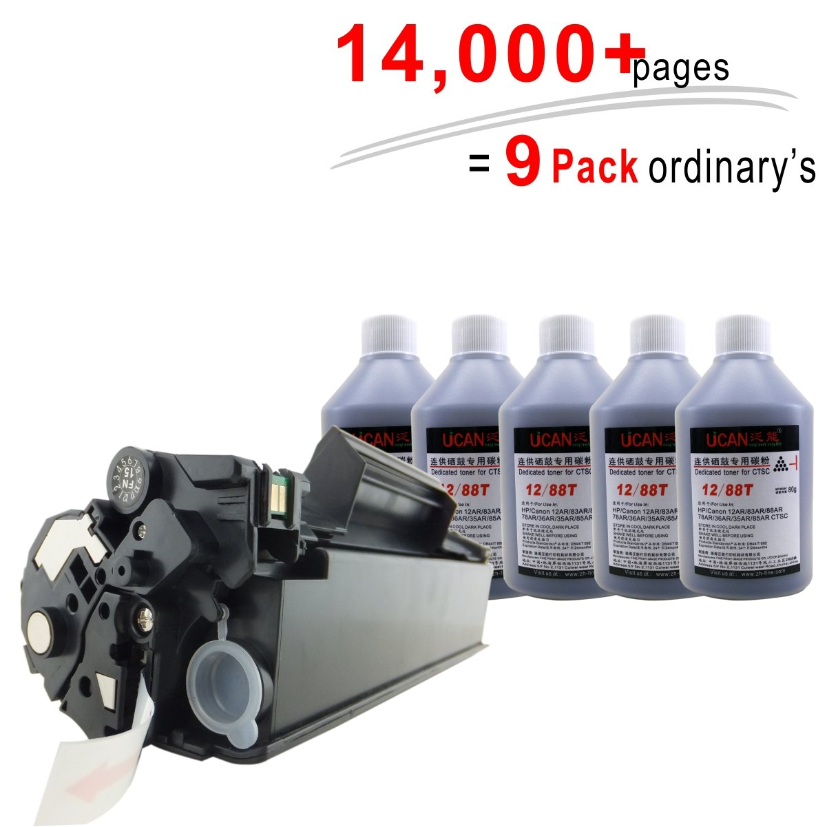 UCAN CRG 325 725 - Cartucho de Tóner para Impresora Canon LBP-6000 ...
