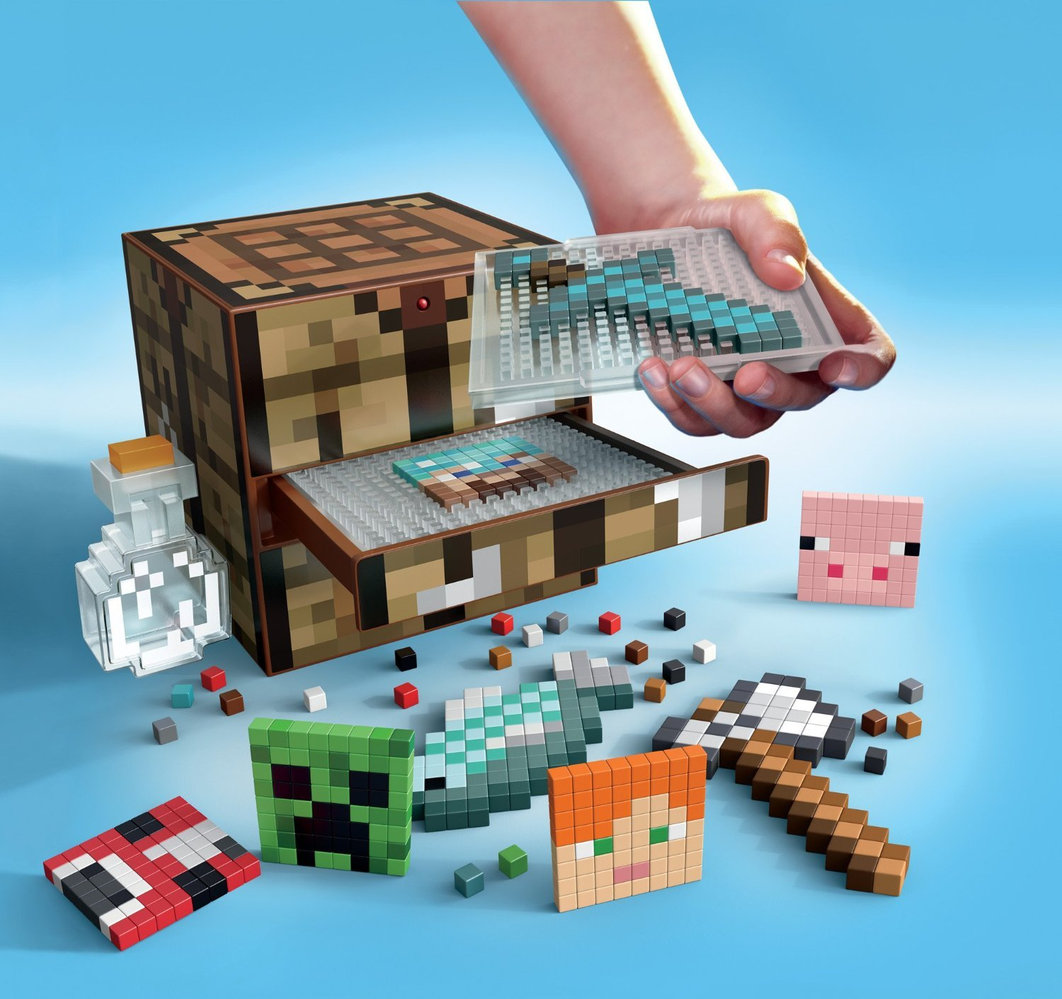 Minecraft Crafting Table by Mattel (Image #2)
