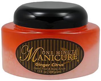 One Minute Manicure Spa Treatment Moisturizing Scrub ( 13 oz / Almond Pear) Anti-Wrinkle Mask (For Devitalized Skin) 1.69oz