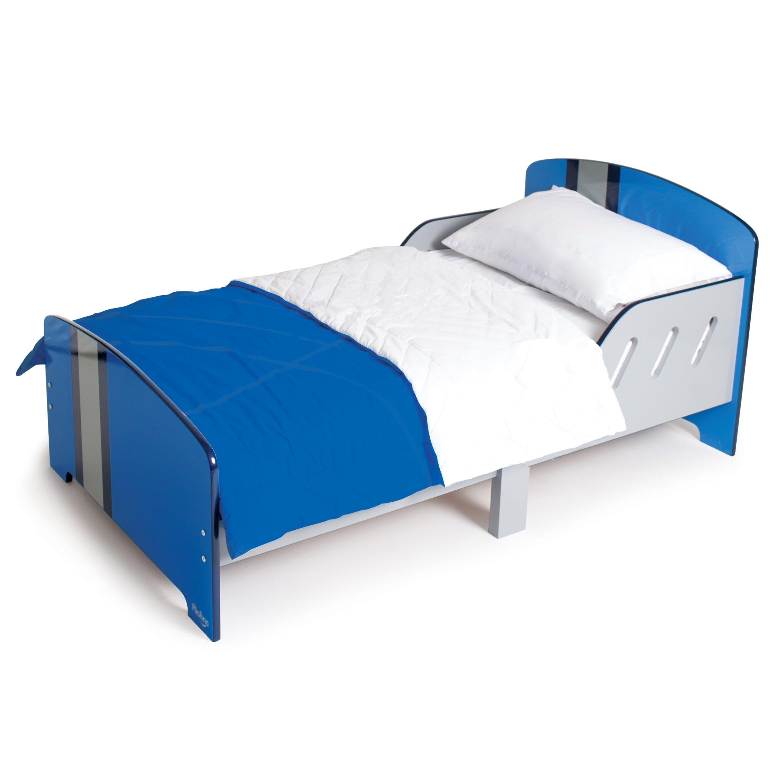 P'Kolino Classically Cool Toddler Bed, Racing Stripes by P'Kolino