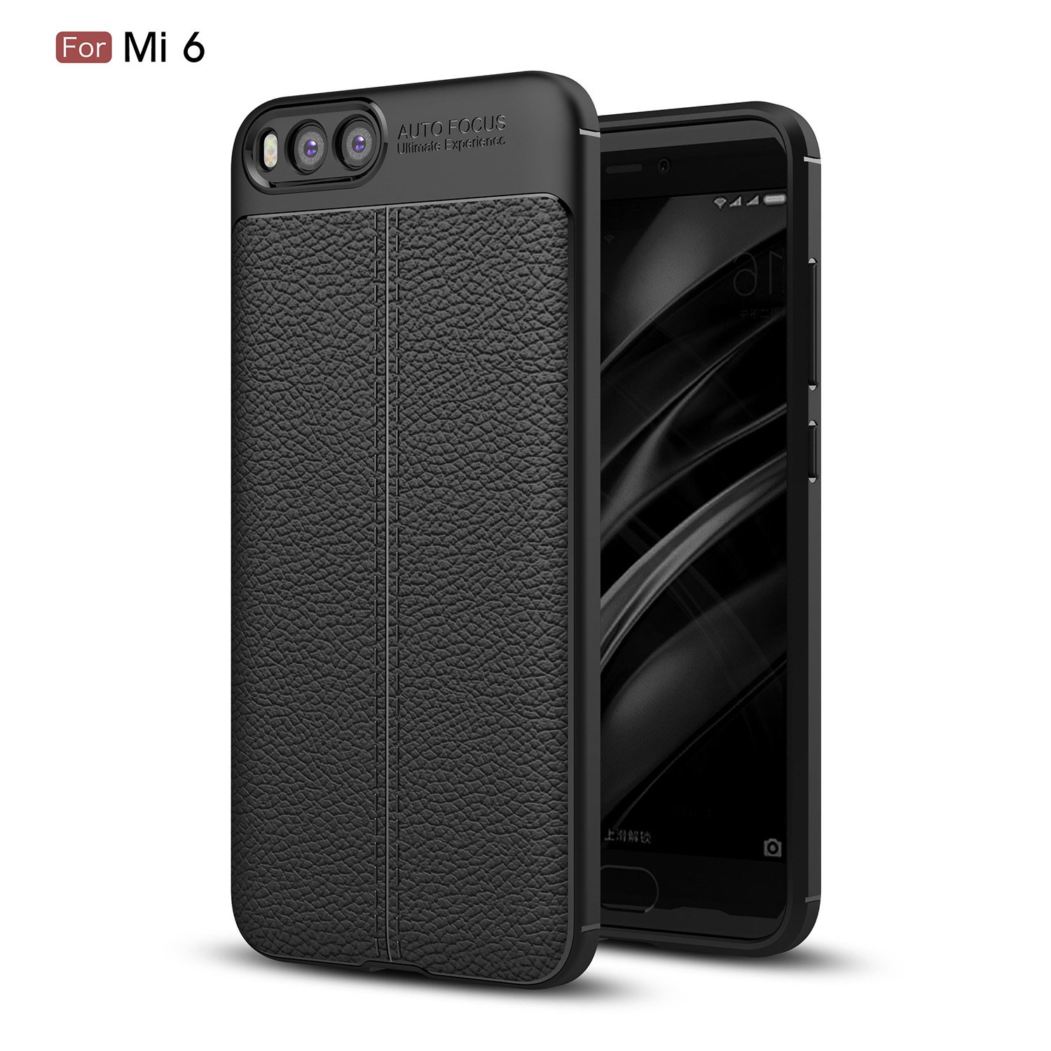 Xiaomi Mi 6 Case Daibo Silicone Gel Rubber Perfect Slim Ringke Fusion For Smoke Black Fit Soft Mobile Phone 515 Inch Cell Phones