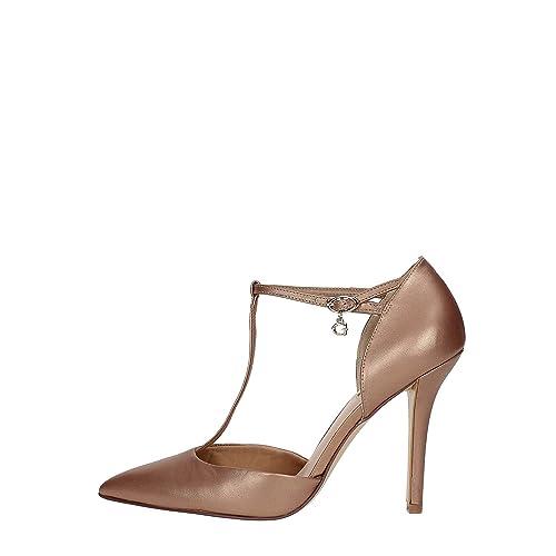 Salón 38 De Zapato Nude Mujer Zapatos Amazon Flte21lem08 Guess es qASxww