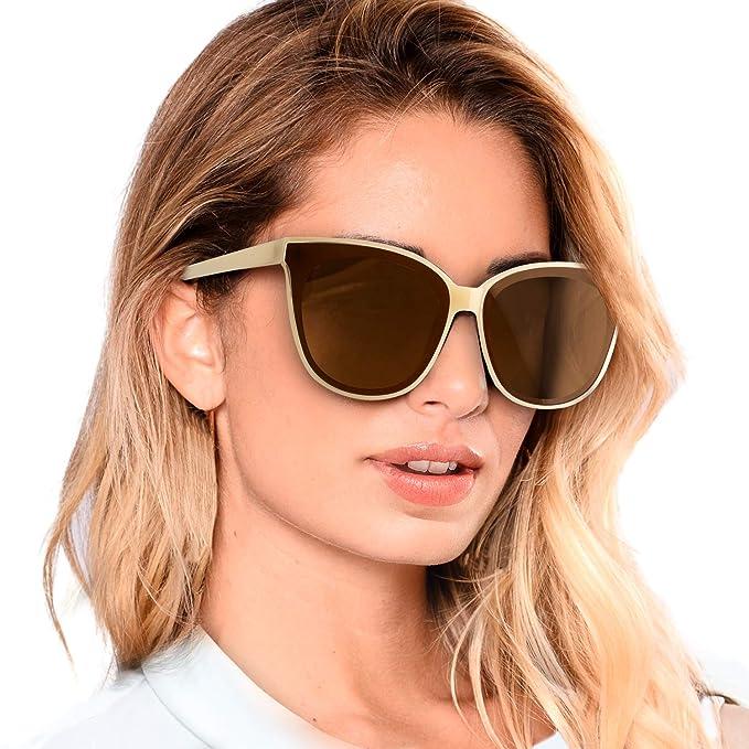 Gafas De Sol De Moda Para Mujer -Lentes Polarizadas- Con Estilo Ojo De Gato