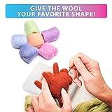 Needle Felting Kit - Wool Roving 36 Colors Set
