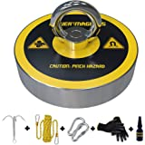 Magnet Fishing Kit | Fishing Magnet Complete Neodymium Magnets Set with 300LBS Strong Magnet, Stronger Rope and…