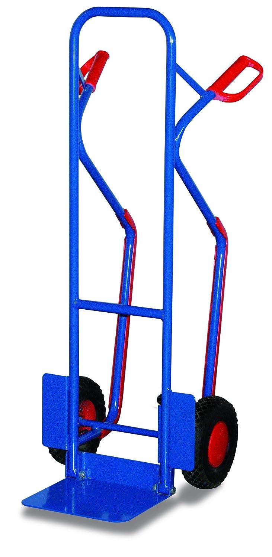 Stahlrohrkarre mit Klappschaufel(Luftbereifung)
