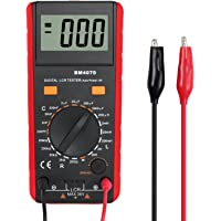 Proster LCR Meter LCR Multimeter Capacitance Inductance Resistance Tester Multimeter Self-discharge with Overrange…
