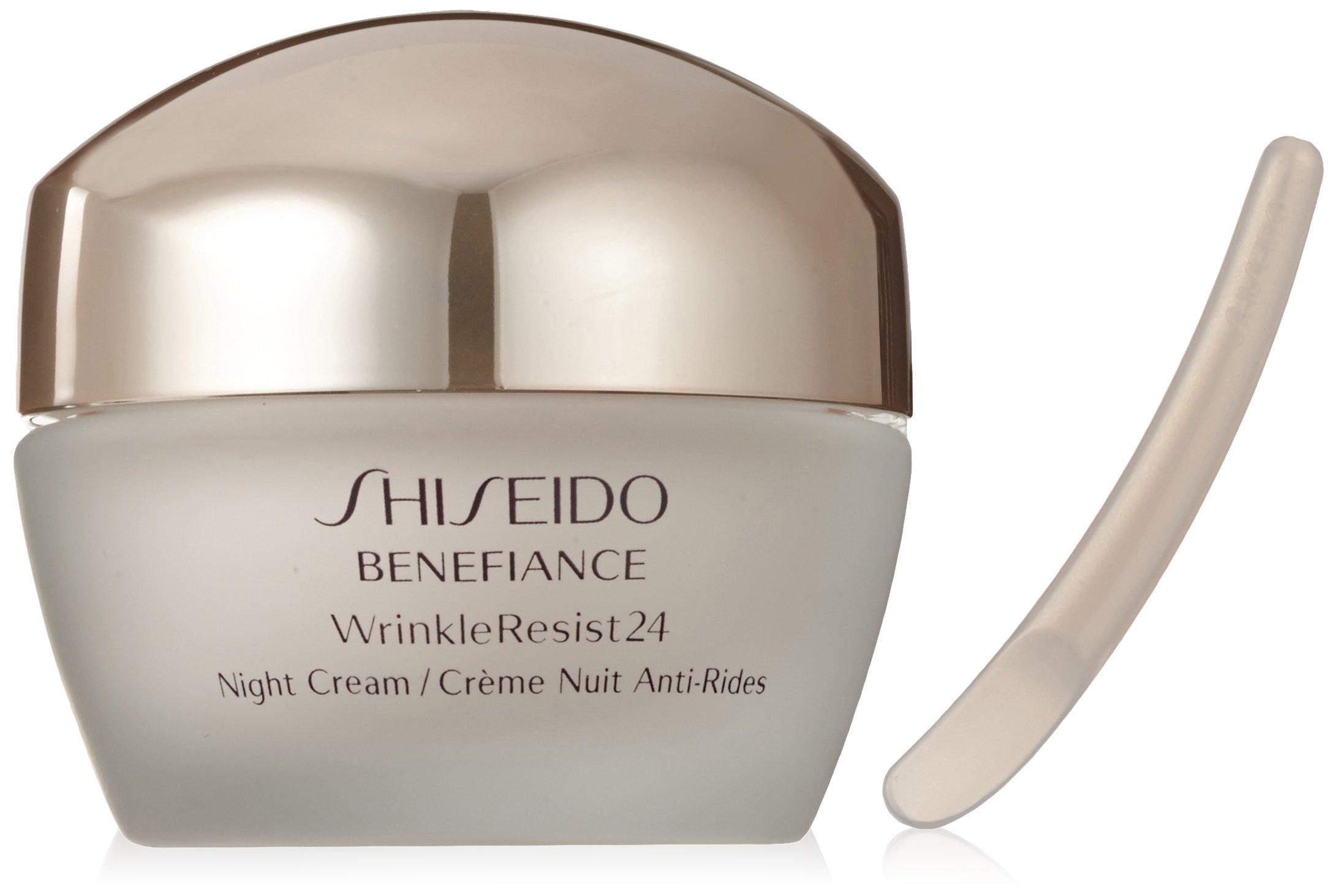 Shiseido Benefiance Wrinkleresist24 Night Cream for Unisex, 1.7 Ounce