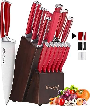 Couteaux De Cuisine Professionnels Ensemble De Couteaux 15