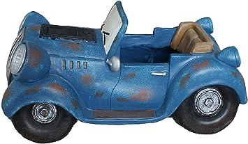 Amazon.com: G-MART - Macetero solar con diseño de tractor ...