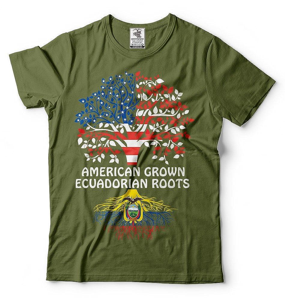 Silk Road Tees Ecuador Camiseta de los Hombres de América ...