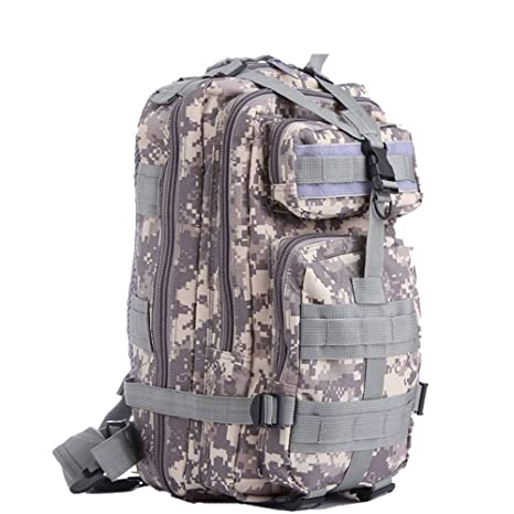 33a14de01037 Outdoor Sports Water-resistant Oxford Tactical Backpack Rucksack Army  Military Rucksacks 25L 3 Day Assault