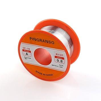 pingranso Zinn Blei Kolophonium Core Lötzinn für elektrische ...