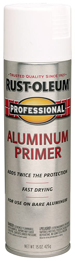 1. Rust-Oleum 254170 Professional Primer Spray Paint, 15 oz, Aluminum