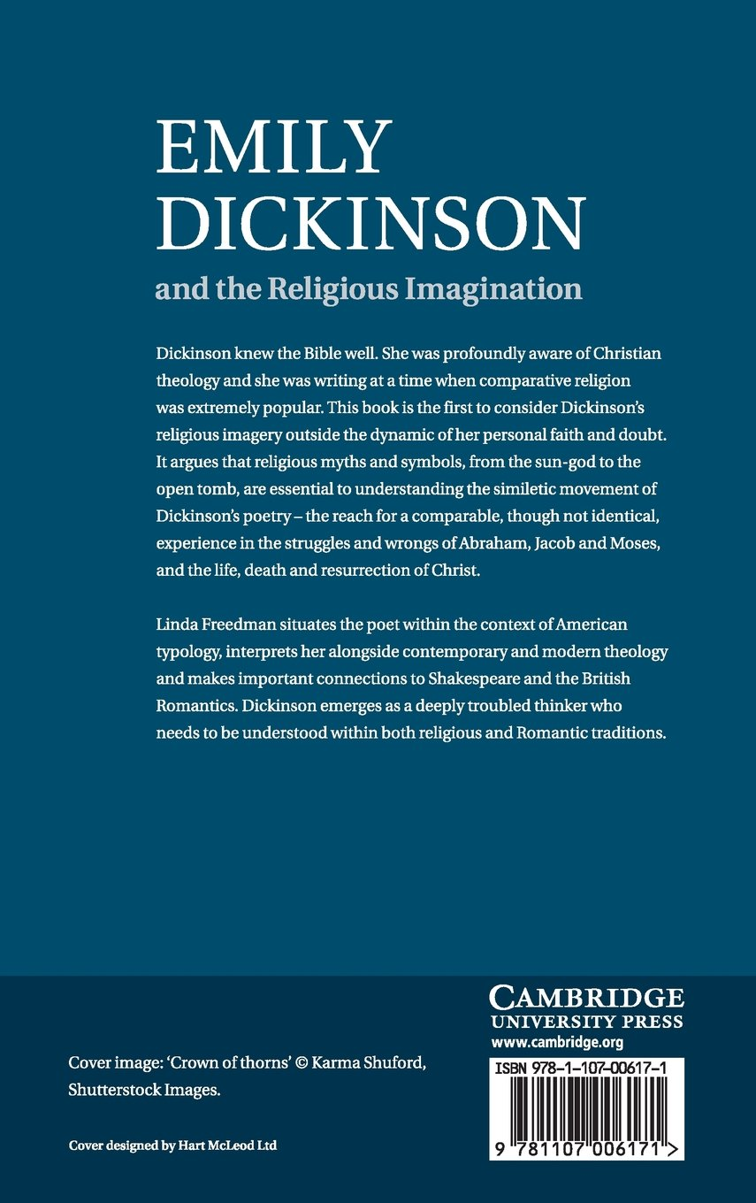 Emily Dickinson and the Religious Imagination