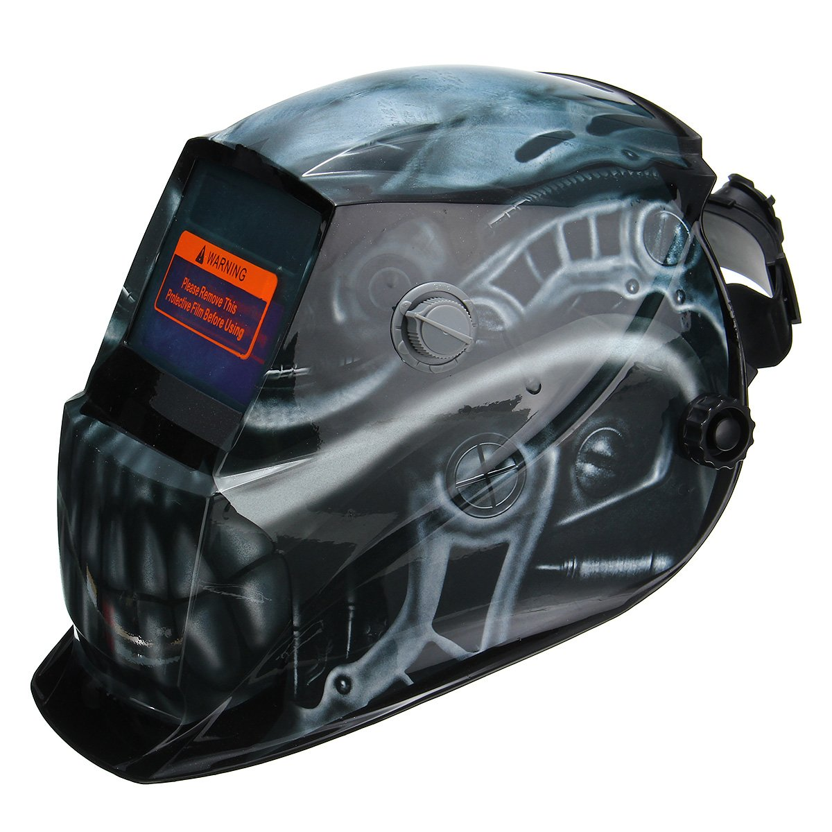 Solar Auto Darkening Welder Welding Helmet Head Shield Grinding Mask - - Amazon.com
