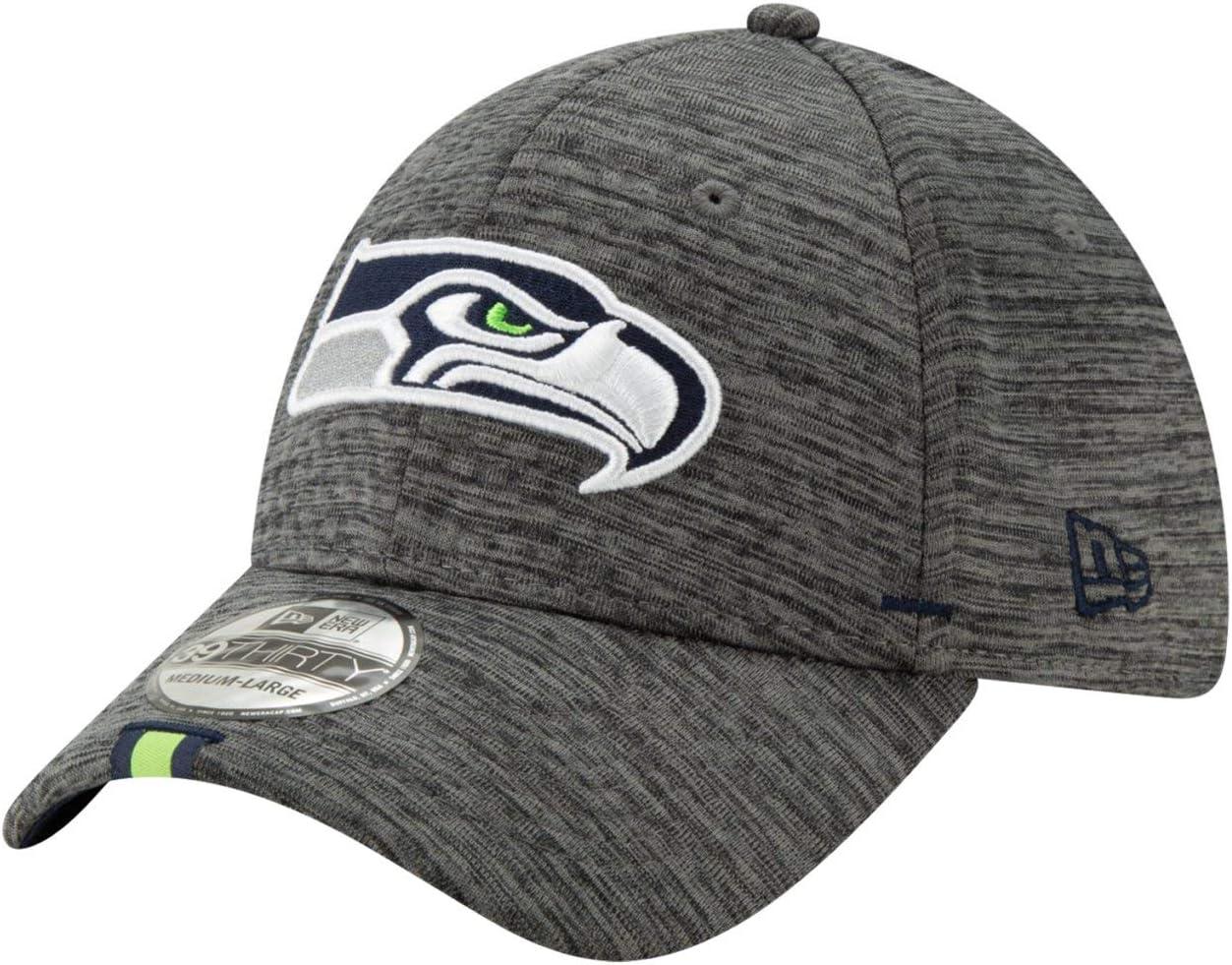New Era 39Thirty Cap TRAINING Seattle Seahawks