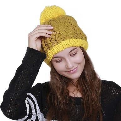 4291ca351c6 Alexsix Pom Pom Beanie - Stay Warm   Stylish - Thick