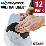 NO Sweat 高尔夫帽子内衬 & Sweat absorber––吸湿排汗汗带 absorbs 滴落 Sweat   * Sweat 污渍 & 帽子 saver 护理